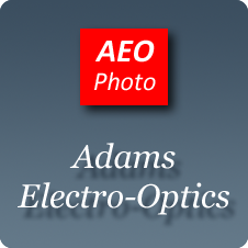 aeo logo on dark background